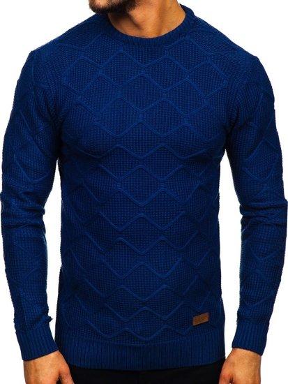 Sweter męski niebieski Denley 1901