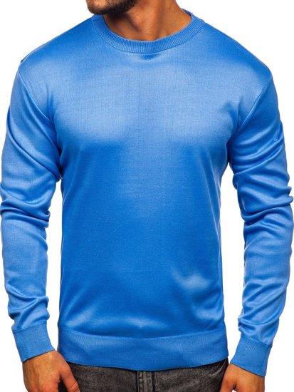 Sweter męski niebieski Denley GFC01