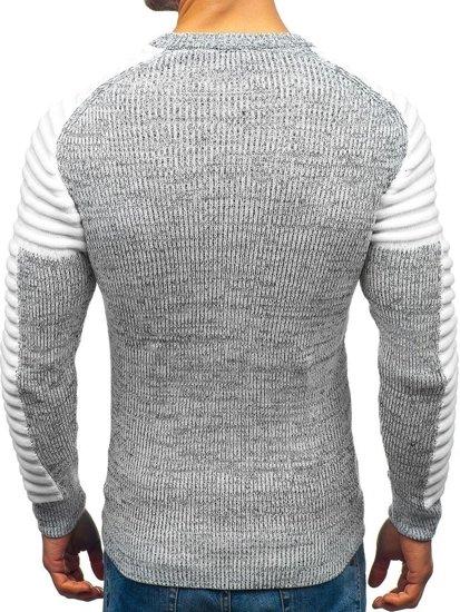 Sweter męski szary Denley 157