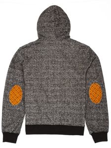 Bluza chłopięca z kapturem czarna 3524E