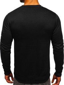 Bluza męska bez kaptura czarna Denley 2001