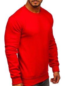 Bluza męska bez kaptura czerwona Bolf BO-01