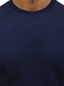Bluza męska bez kaptura granatowa Denley 01