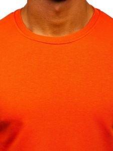Bluza męska bez kaptura pomarańczowa Bolf 171715