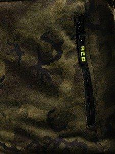 Bluza męska z kapturem moro-zielona Denley 1367