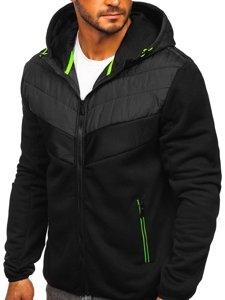 Czarna przejściowa kurtka męska Denley KS2153