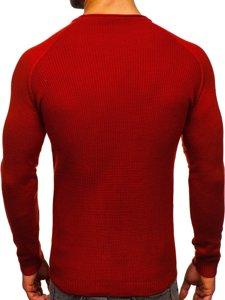 Czerwony sweter męski Denley 1009