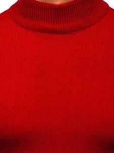 Czerwony sweter męski golf Denley 4600