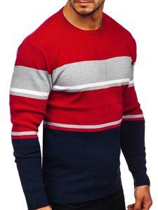 Granatowy sweter męski Denley H2068
