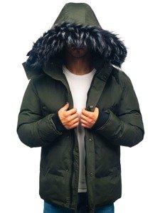 Kurtka męska zimowa khaki Denley 201821