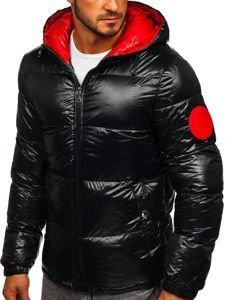 Kurtka męska zimowa pikowana czarna Denley 99311