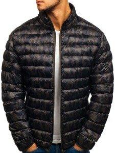 Kurtka męska zimowa sportowa moro-khaki Denley 3117