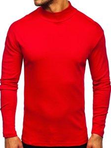 Półgolf męski basic czerwony Denley 145348