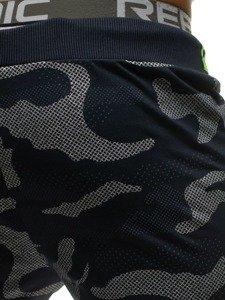 Spodnie męskie dresowe moro-granatowe Denley ML223