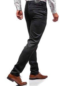 Spodnie wizytowe męskie antracytowe Denley 7624