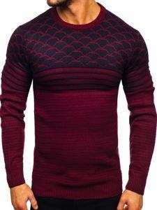 Sweter męski bordowy Denley 314