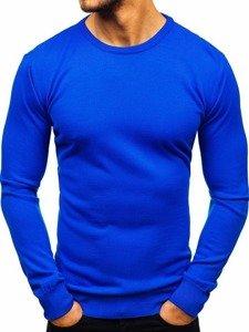 Sweter męski chabrowy Denley 2300