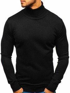 Sweter męski golf czarny Denley 2400
