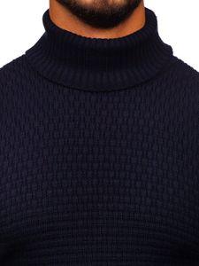 Sweter męski golf granatowy Denley 323