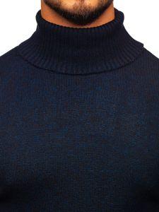 Sweter męski golf granatowy Denley H1933