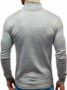 Sweter męski golf szary Denley 2400