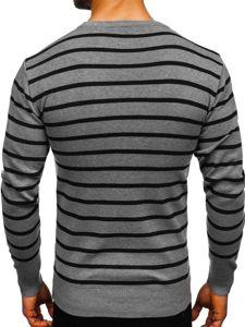 Sweter męski szary Denley H6052